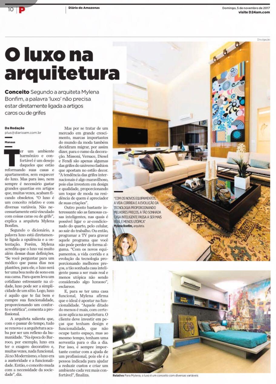 O Luxo na Arquitetura